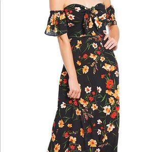 Flynn Skye bardot Dress
